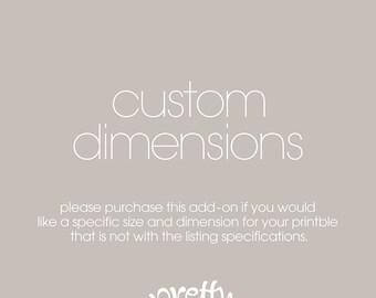 Custom Dimensions  | ADD ON