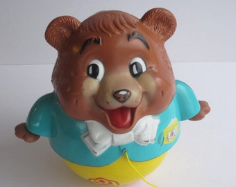 Vintage 1969 Fisher Price Chubby Cub