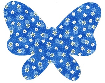 Butterfly Iron on appliques DIY