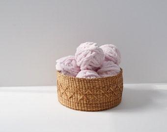 Pink Chenille Trim Soft Pink Ribbon Fuzzy Trim Soft Trim 10 Yards