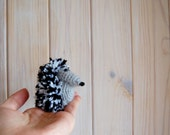 Amigurumi tiny toy hedgehog crochet animal