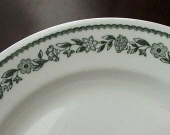 Buffalo China Green Kenmore Dinner Plate