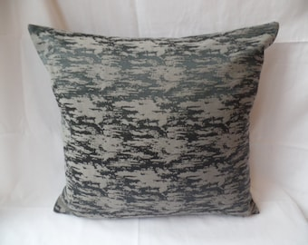 "18"" x 18"" Contemporary modern black, brown  cushion cover, scatter cushion, pillow case"