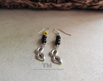 Black Canary - Arrow and Black Canary Inspired Earrings