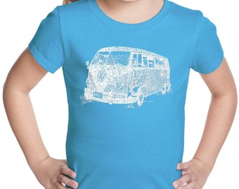 Girl's T-shirt - The 70's
