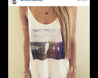 Free Spirit tank-one size only