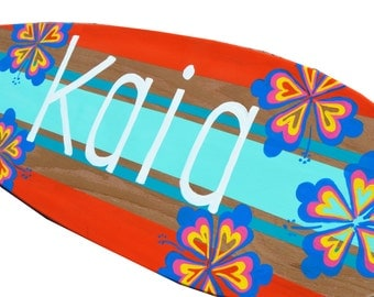 Decorative Surfboards, Beach Room Decor for Girls