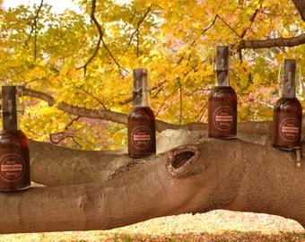 Bourbon Barrel Aged Maple Syrup - FOUR bottles
