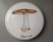 Reserved Vintage denmark danishe decorative plague with mushroom B&G