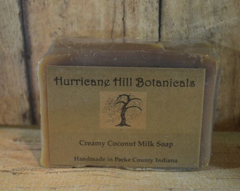 Creamy Coconut Milk Soap