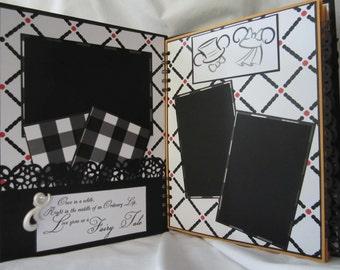Disney Wedding Album, Premade Scrapbook by Island Lilly Designs