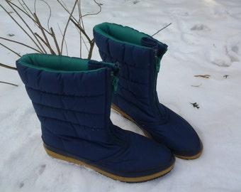 Vintage Sporto Snow Boots Woman's Size 6