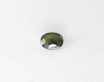 Genuine Green Sapphire, Oval Cut, 2.34 carats