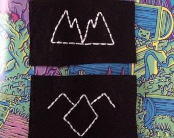 Twin Peaks patch set
