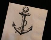 50 Anchor PAPER NAPKINS Nautical Wedding Decor Ahoy Its a Boy Nautical Baby Shower Decor Nautical Wedding Anchor Theme Nautical Signs Beach