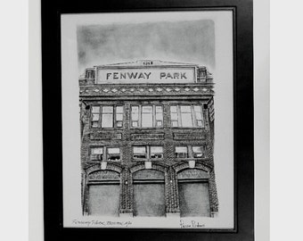 Fenway Park  Boston Red sox art print