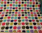 Pippin Deleon Design Group- Apples - Alexander Henry Fabric 1 Yard
