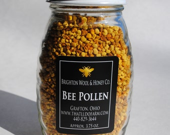 Raw Bee Pollen 3.75 oz.