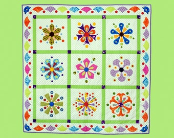 Carnivale Quilt Pattern