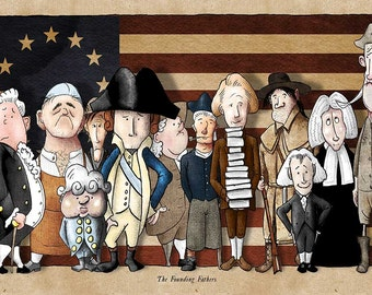Founding Fathers Print