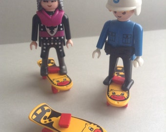 Playmobil Skateboards, yellow and red, set of 3, Playmobil Supplies / parts, egst, Greece