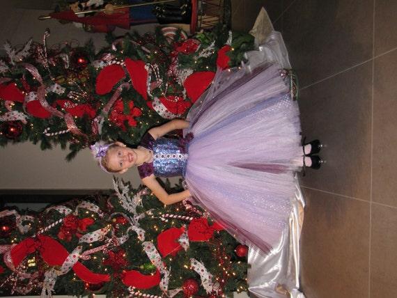 Dress christmas tulle dress pagent dress flower girl tulle dress