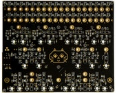 Rollz-5 Experimental Analog Drum Machine Drone Synth (PCB)