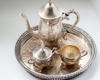 Vintage Tea or Coffee Service with Tray