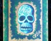 Davy Jones Mystic Skull