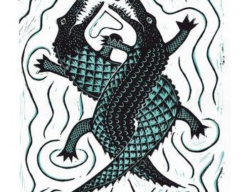 Cards - Croc & Roll - card