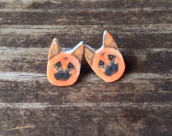 German shepherd earrings, dog jewelry dog earrings shepherd dog german shepherd jewelry