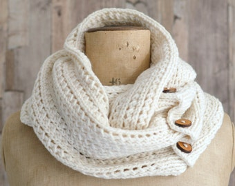 Knitting Pattern Very Easy Beginner Tutorial  for Chunky Rib Mesh Infinity Scarf Cowl PDF file instant download