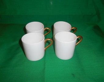 Four (4), Bone China, Demitasse Cups, from Coalport China.