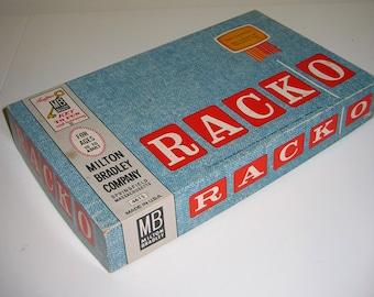 Vintage 1961 RACKO Game in Original Box