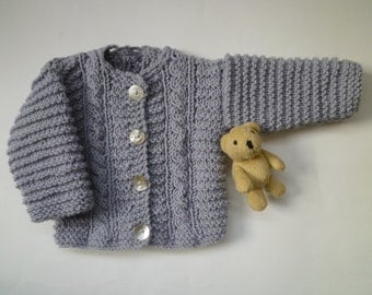 Knit baby boys and girls sweater,newborn cardigan,free shipping