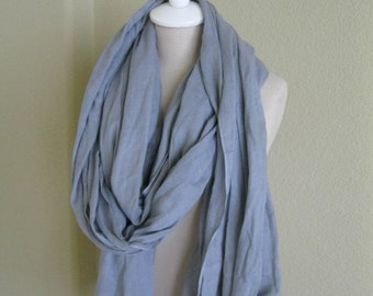 Original Nomad Scarf also called Touareg Scarf - Light Grey