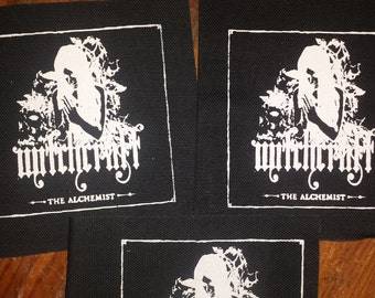 WITCHCRAFT PATCH  on Black Canvas