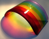 fused Glass Rainbow Arch