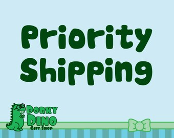 Upgrade to Shipping: Priority Mail