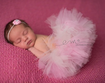 Newborn tutu set, newborn photo prop, Baby tutu, Baby tutu set, baby photo prop, newborn tutu,  pink tutu, Tutu set, photography prop, baby