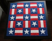 EMBROIDERY PATTERN 200 mm in-the-hoop quilt blocks - americana for 200 mm hoop