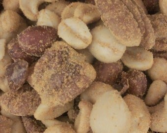 Mixed Nuts Cheddar Seasoned   1LB bag Micro Batch made to order Covection roasted