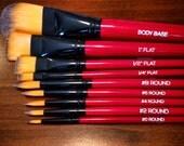 Nix body Art Brushes