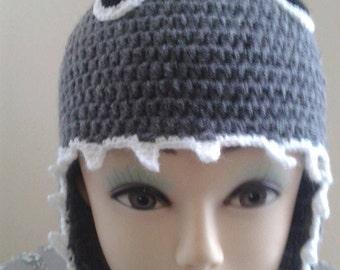 Shark Crochet Hat, Boy Crochet Hat, Girl Crochet Hat, Photo Prop, Preschooler Hat