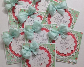 Thinking of You small note stationery collection set