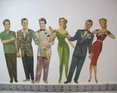 "RARE, Hard to find! Vintage 1942 ""Glenn Miller, Turn Around Dolls"" *partial set*"