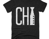 Chicago Blackhawks Shirt - Chi Cup - Chicago Shirt - Men's Unisex Sizing - Vintage Print -