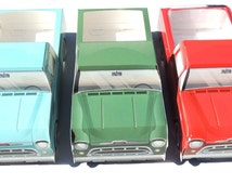8 Classic and Modern Truck Food Boxes Combo Food Box Trays-Tailgate Food Boxes- 57 Chevy Truck Tray- Cute Kids Paper Car Favor Box