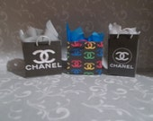 S-11     Miniature set of 3 Shopping Bags   for Barbie or dollhouse collectors