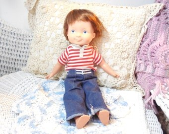 1981 Fisher Price My Friend Mikey Doll With Nice Outfit / Hard Too Find :)S